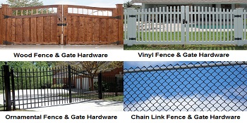 Fence and Gate Hardware