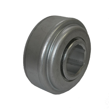3.573 in. OD, 1.275 Hex Bore, Straight Faced Unground Non-Precision Conveyor Roller Bearing 1SP-B1100-1