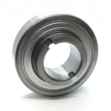 3.937 in. OD, 1.687 in. Round Bore, Straight Faced Unground Non-Precision Conveyor Roller Bearing 1SP-B1130-2