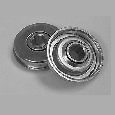1.668 in. OD, 7/16 in. Hex Bore, Flanged Unground Non-Precision Bearing HM422-1090H