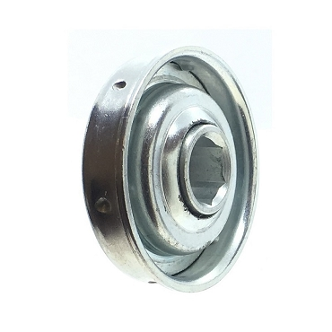 1.703 in. OD, 7/16 in. Hex Bore, Flanged Unground Non-Precision Bearing HM431-1105H