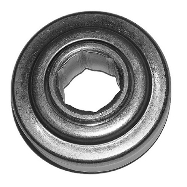 3.066 in. OD, 1-1/16 in. Hex Bore, Straight Faced Unground Non-Precision Conveyor Roller Bearing SM778-2782H