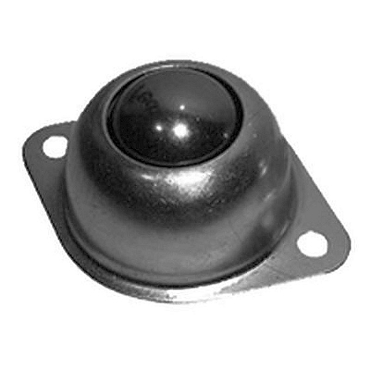 Two-Hole Flange Mount 1 in. Steel Main Ball Transfer 1SP-B4500