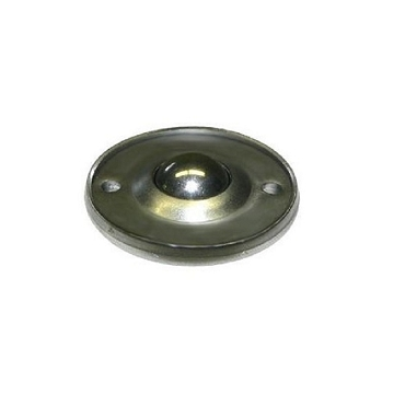5/8 in. Stainless Steel Ball, Carbon Steel Housing, Flying Saucer Ball Transfer BTFS-158SS