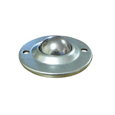 1 in. Stainless Steel Ball, Carbon Steel Housing, Flying Saucer Ball Transfer BTFS-254SS